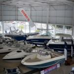 Exposición de embarcaciones nuevas