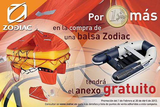 Promoción: Un Anexo por solo 1 Euro al comprar su Balsa Zodiac®