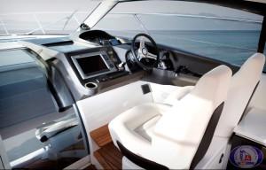 Princess V39 interior