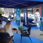 Carpa de Nautica y Deportes en la Plaza del Príncipe