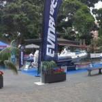 Nautica y Deportes expone algunos barcos en la Plaza del Príncipe