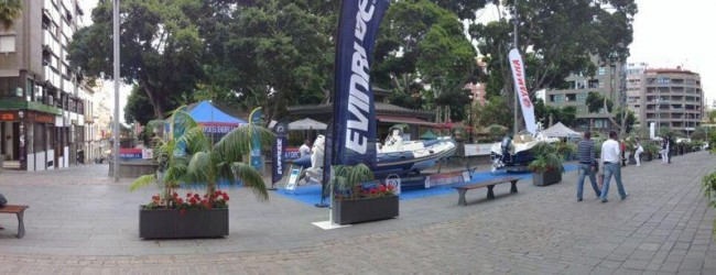 Náutica y Deportes Tenerife expone en la Plaza del Príncipe