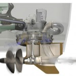 Volvo PentaIPS - dirección de la propulsión