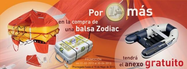 (Español) Oferta en balsa Zodiac y anexo ampliada hasta 15 de mayo