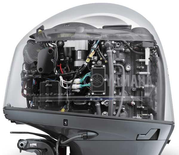 Nuevo motor Yamaha fueraborda F200