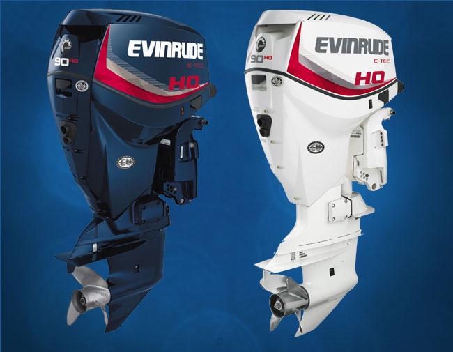 Nuevos motores fueraborda Evinrude E-TEC 90 HO