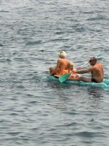 El Nautilus en el mar