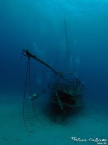 Pecio Meridian, un barco hundido en Tenerife