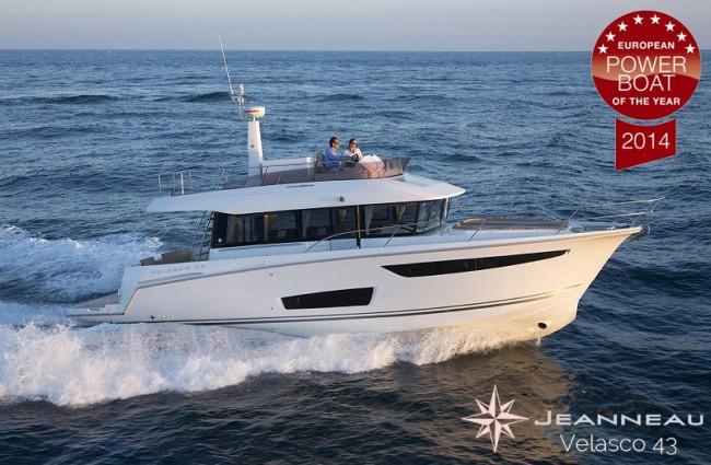 Jeanneau Velasco 43, mejor barco del año 2014