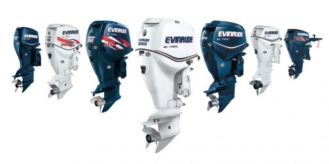 Evinrude двигатели E-Tec, максимальная мощность с минимальными выбросами