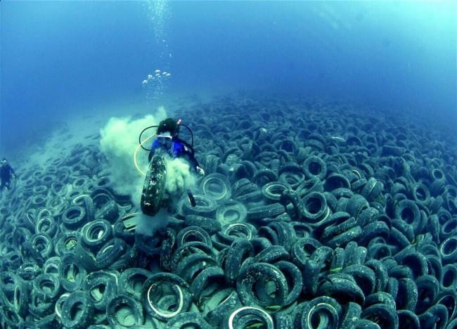 Arrecifes artificiales sorprendentes