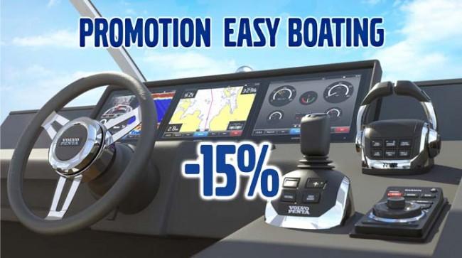 ¡Accesorios en oferta para la navegación de Volvo Penta!
