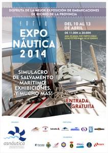 Cartel exponautica 2014 Tenerife feria barcos y náutica