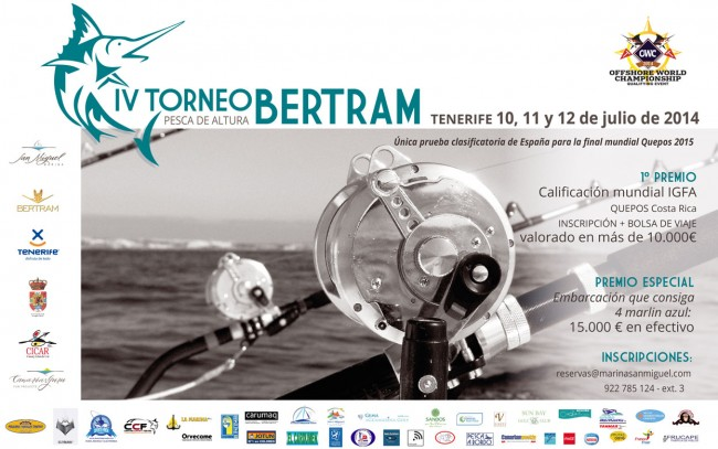 IV edición del Torneo Bertram en pesca de altura