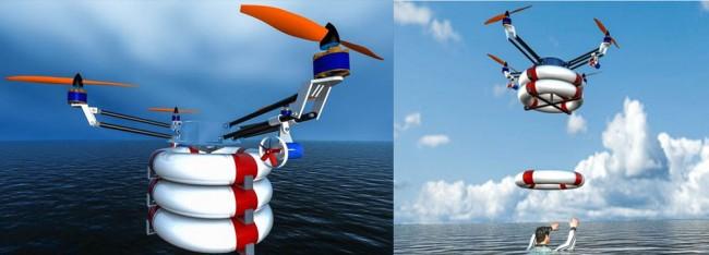 La tecnología y el salvamento unidos por el drone Pars