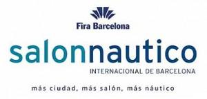 Logo salon nautico internacional barcelona