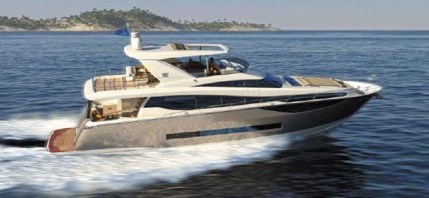 Prestige 750, galardonado en el Festival de Cannes Yachting