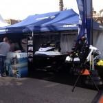 Feria náutica barcelona - stand de Evinrude