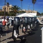 Feria náutica barcelona - stand de Yamaha