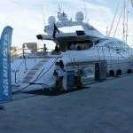 Feria náutica barcelona - yate Princess