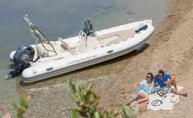 Una embarcación remolcable para una sencilla navegación