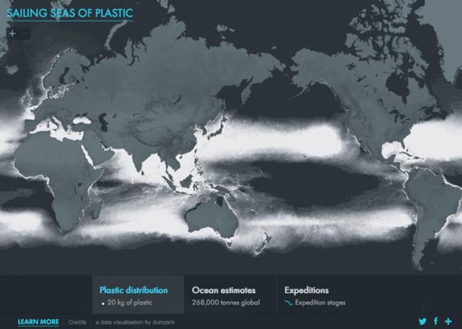 Escalofriante contaminación de plástico en nuestros océanos