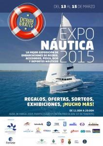 Cartel Exponáutica 2015 feria exposición náutica de Tenerife