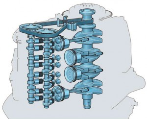 Mecanismo Motor Yamaha F115
