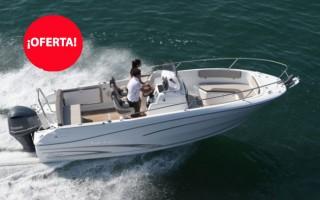 (Español) Jeanneau Cap Camarat 7.5 CC + Motor Yamaha 250HP