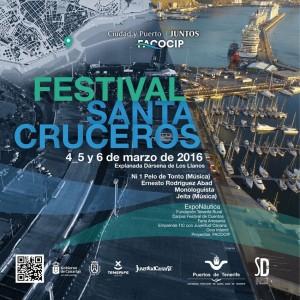 Cartel Festival Santacruceros Exponautica