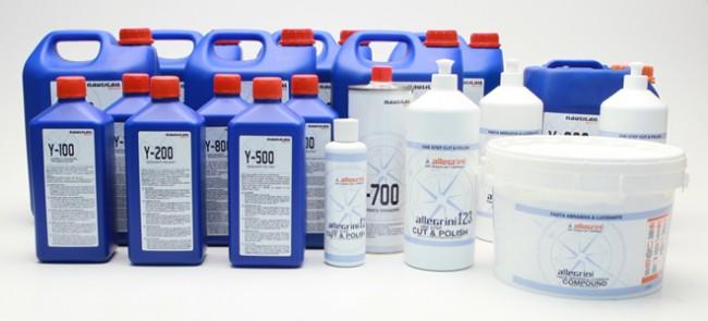 Productos de limpieza náutica Allegrini