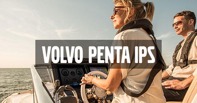 Volvo Penta IPS, disfruta la sensación de navegar