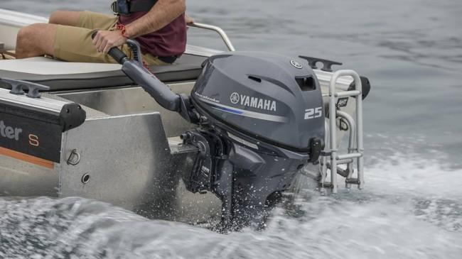 Nuevo motor F25 de Yamaha, el casi pluma del mercado. ¡Otra novedad del 2017!