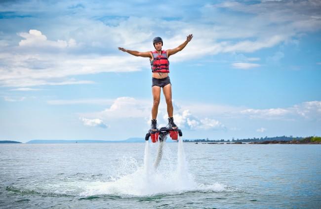 La moda de los deportes acuáticos