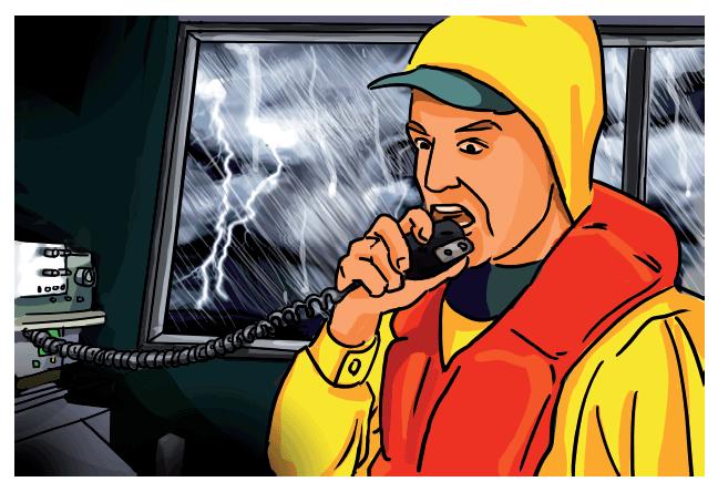 (Español) ¿Cómo pedir ayuda en caso de emergencia a bordo?
