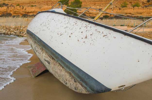 ¿Cómo detectar la ósmosis de una embarcación?