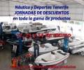 JORNADA DE DESCUENTOS ESPECIALES DE NAUTICA Y DEPORTES