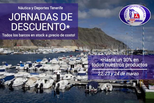 (Español) JORNADA DE DESCUENTOS ESPECIALES DE NAUTICA Y DEPORTES