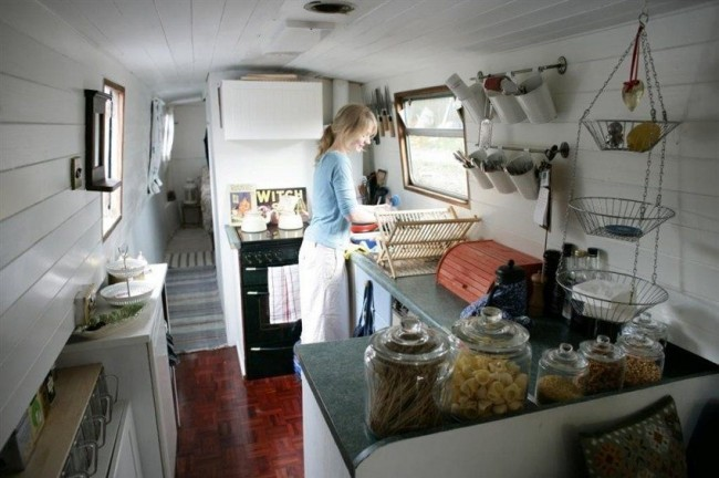 Cómo cocinar en un barco