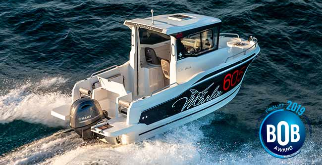 Merry Fisher 605 Marlin, premio 'Best of Boats' 2019 a la mejor embarcación para pescar