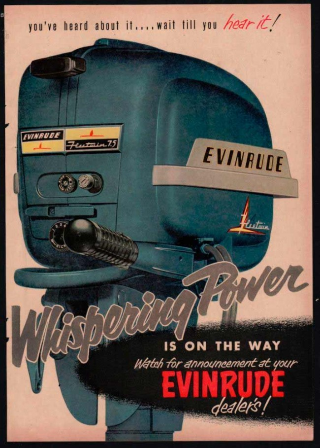 Motores icónicos de Evinrude