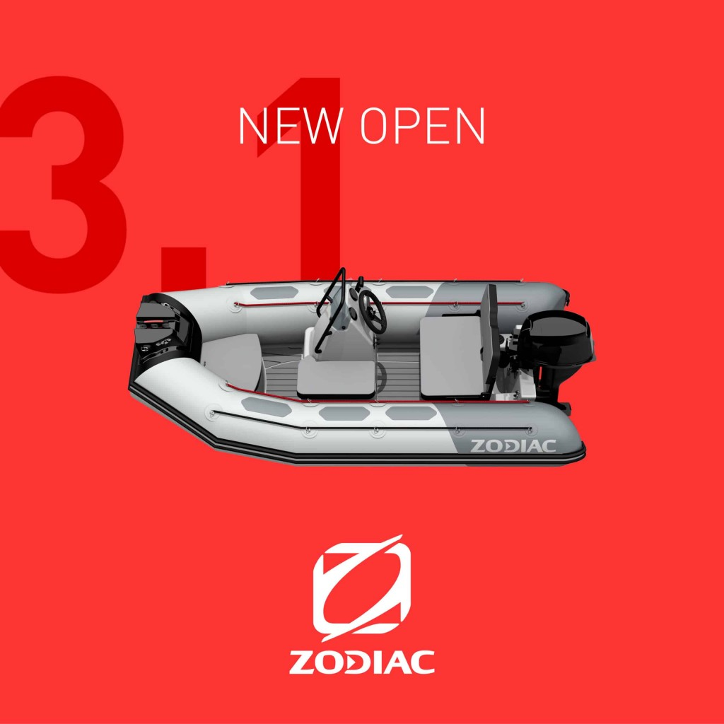 zodiac open 3.1 dársena pesquera