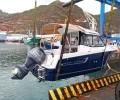 La última entrega por parte de Náutica y deportes. Una embarcación Jeanneau Merry Fisher 605.