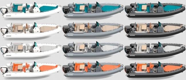 Nautica y deportes, configurador zodiac 3d