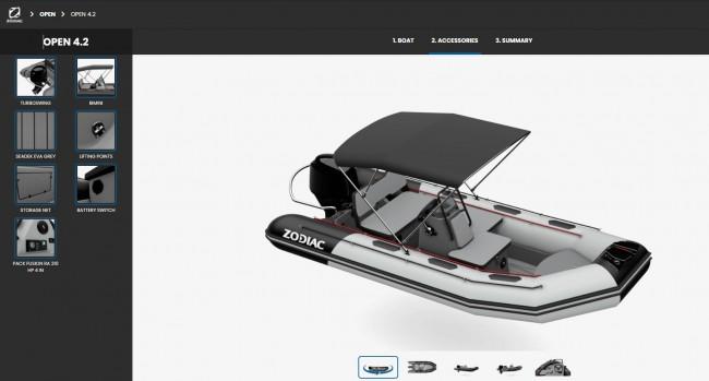 (Español) Nuevo configurador 3D de Zodiac.